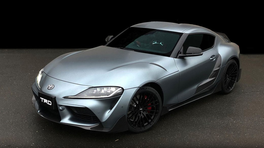 Just Like Bmw S M Performance Parts Much Of The Kit Ears To Be Carbonfibre Icing On Top Supra Already Rather Muscular Body