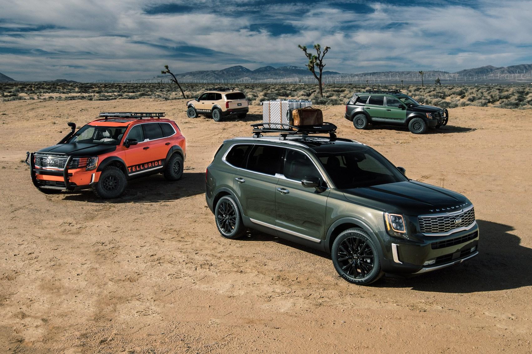 New Kia Telluride Suv Is Chunky Adventure Goer Car Magazine
