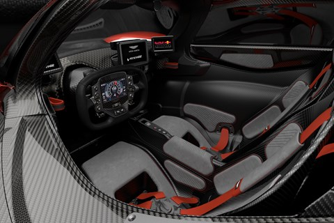 CAR Valkyrie spec interior