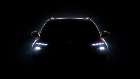 Skoda Kamiq: the first teaser photo