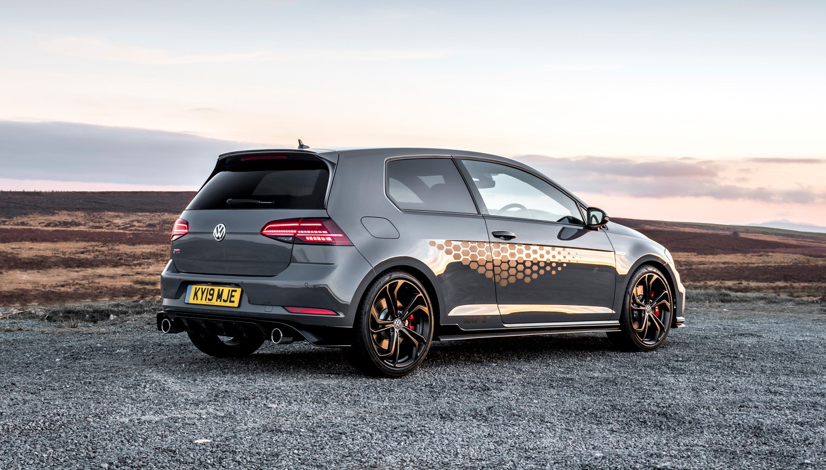 Golf GTI TCR rear quarter
