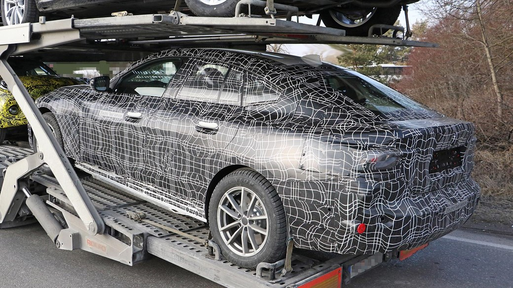 Bmw I4 Pictures And Details Munich S Ev Snapped Inside And Out