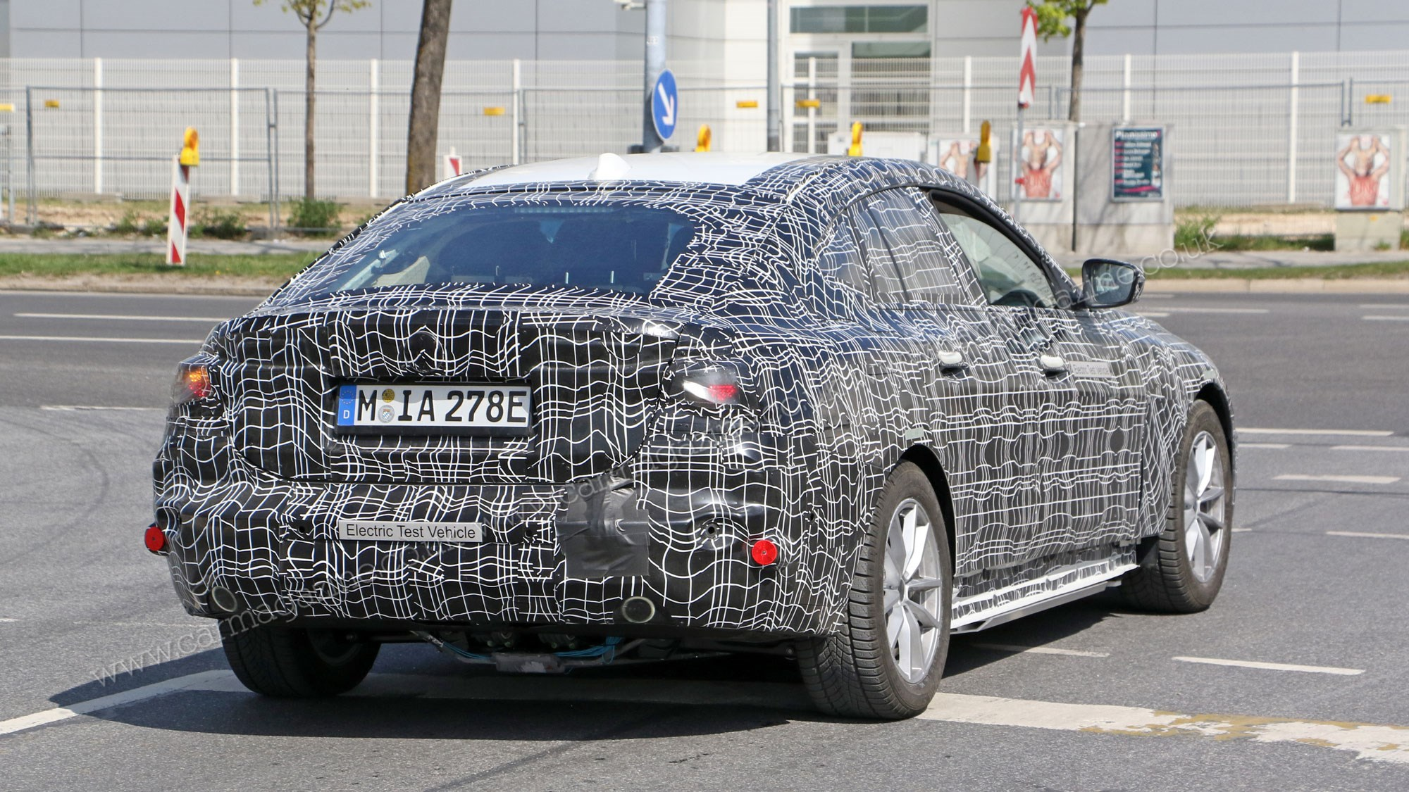 BMW i4 pictures and details: Munich's EV snapped inside and