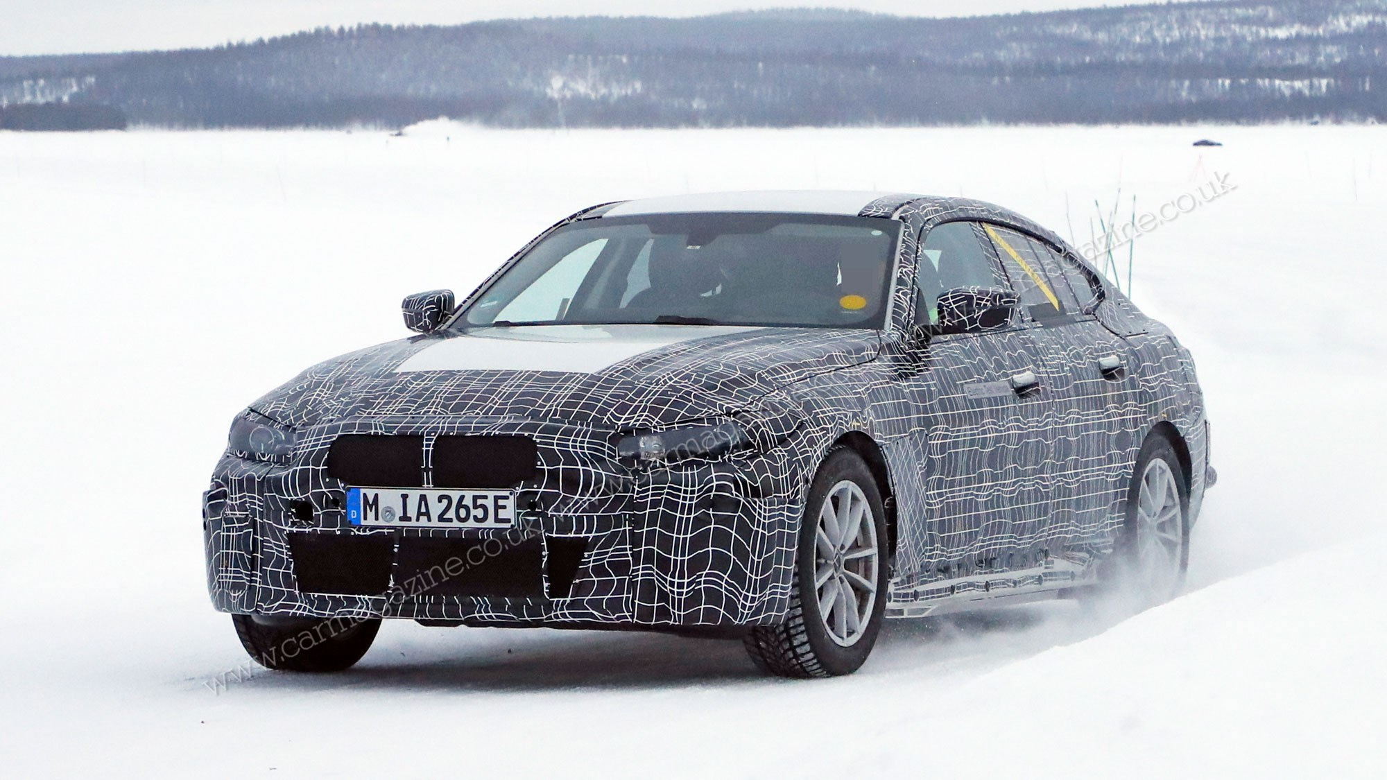 The New 2020 Bmw I4 Electric Car
