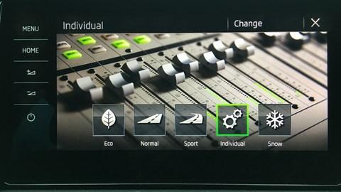 Skoda Kodiaq drive modes