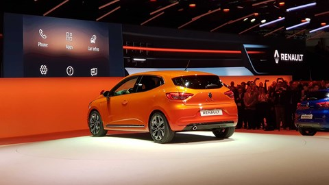 Renault Clio at Geneva 2019 - rear view