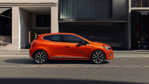 Renault Clio at Geneva 2019 - front view