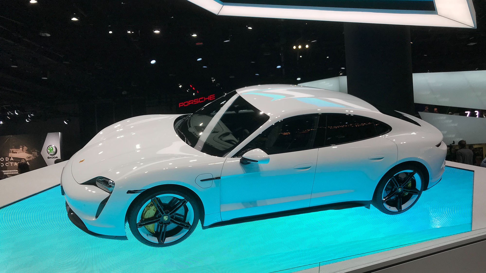 All-new Porsche Taycan: electric sports car show debut at