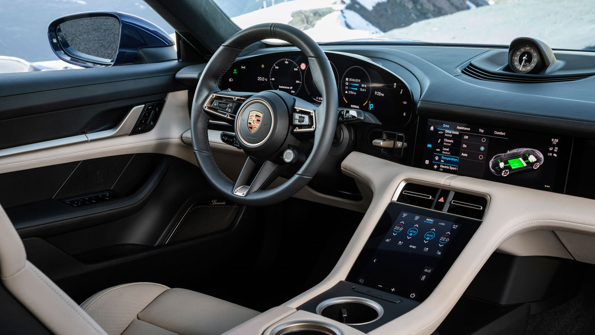 Porsche Taycan specs, pricing and more on new high,tech