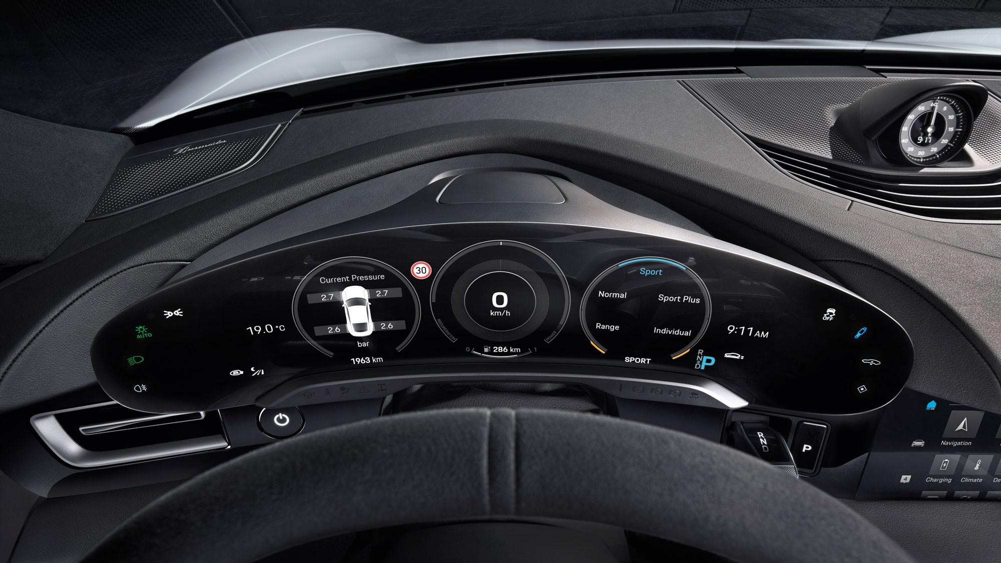 Porsche Taycan 2021 Updates Include More Tech More Speed Car Magazine