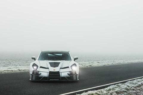 Ginetta supercar due at the 2019 Geneva motor show