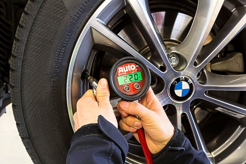 Each winter tyre was tested in identical conditions to benchmark the results