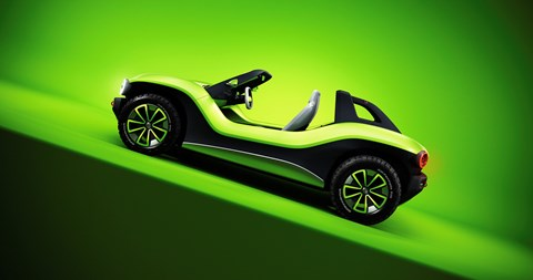 VW ID Buggy: an electric beach buggy concept car