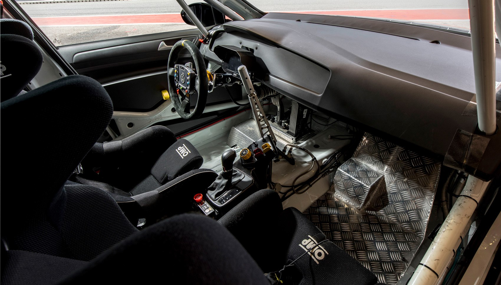 vw golf gti tcr  racing car review crazy golf car magazine