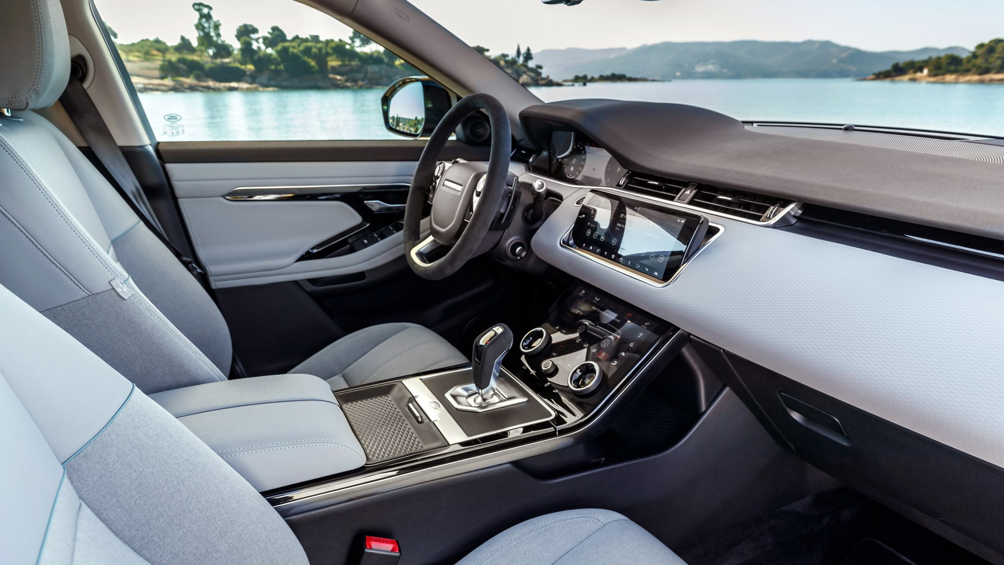Range Rover Evoque interior: A huge quality uplift over its predecessor