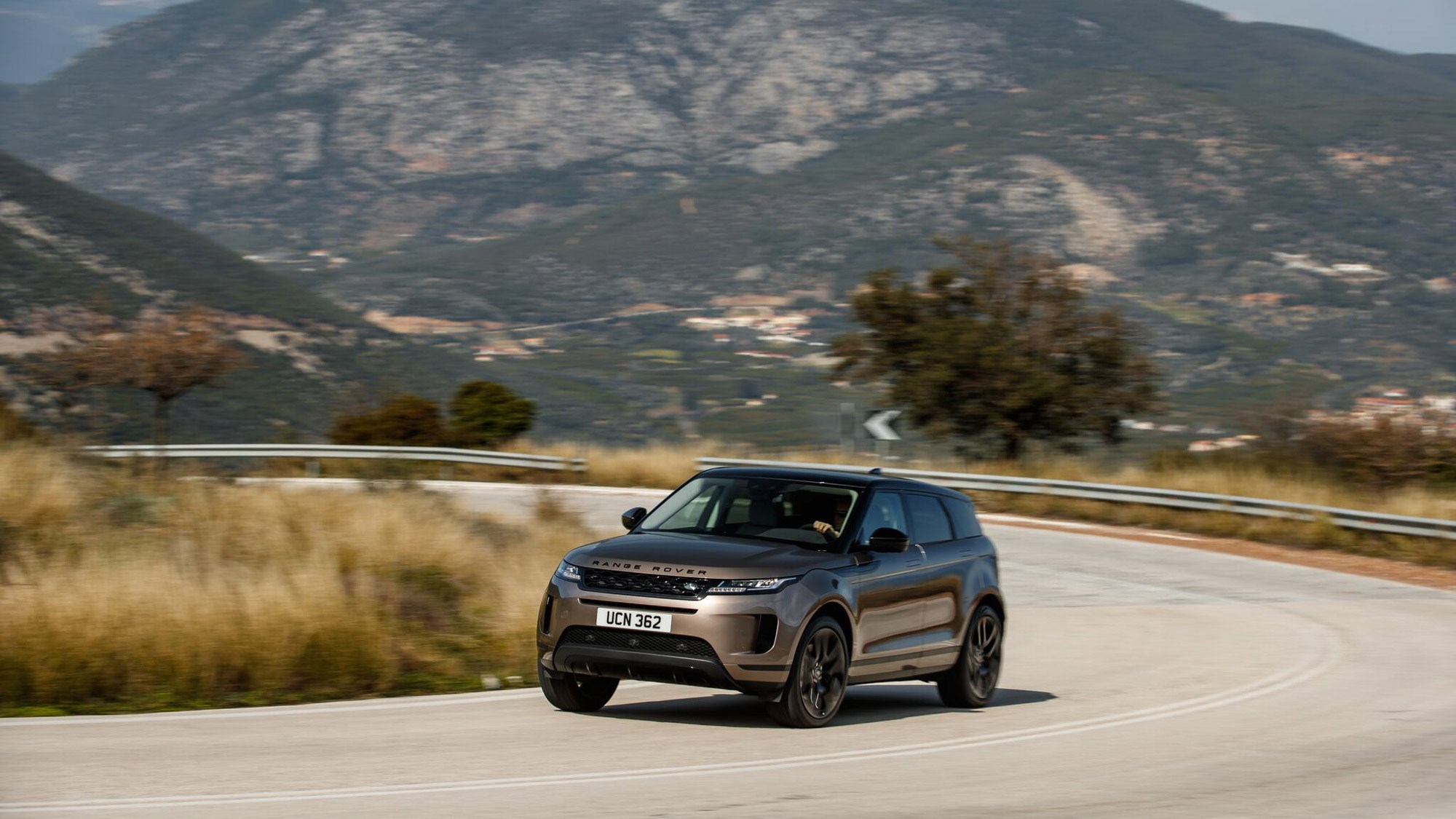 Range Rover Evoque's handling is composed and poised