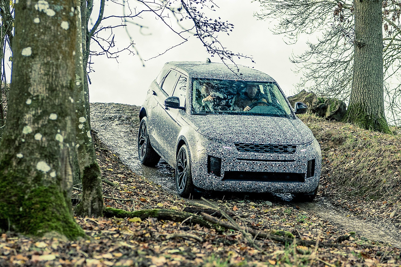 Range Rover Evoque 2019 Prototype Review Mission