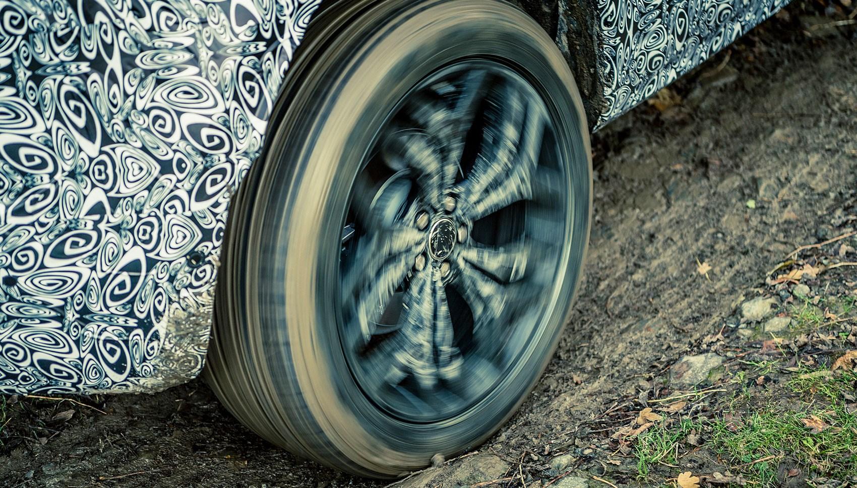 Evoque prototype wheel