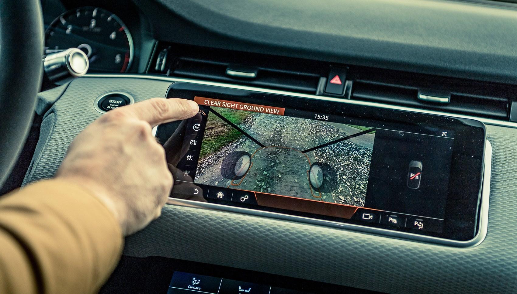 Range Rover Clearsight camera