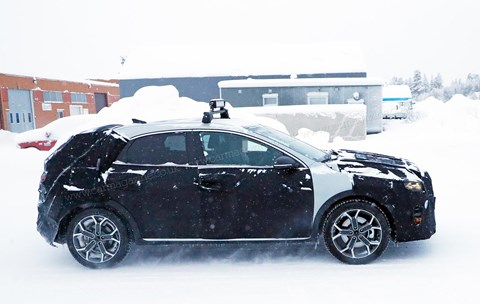Our spies caught the Kia Xceed on test in Scandinavia