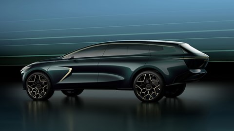 Aston Martin Lagonda All-Terrain Concept - rear view
