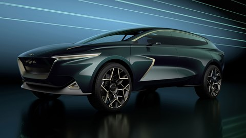 Aston Martin Lagonda All-Terrain Concept - front view, low