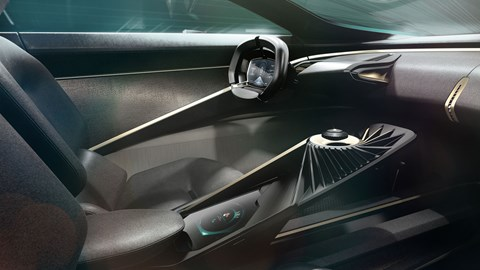 Aston Martin Lagonda All-Terrain Concept - interior with floating key
