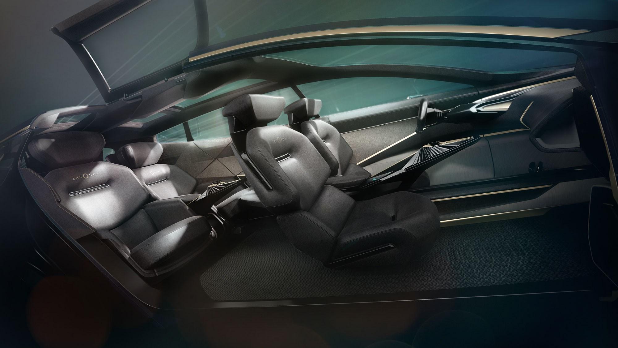 Lagonda All-Terrain Concept: Aston Martin electric SUV revealed at Geneva | CAR Magazine