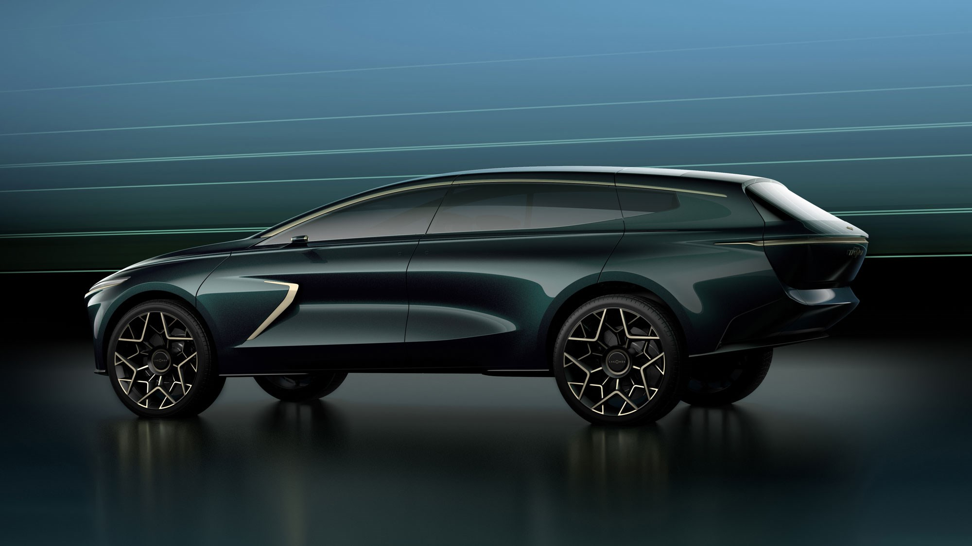Lagonda All-Terrain Concept: Aston Martin Electric SUV