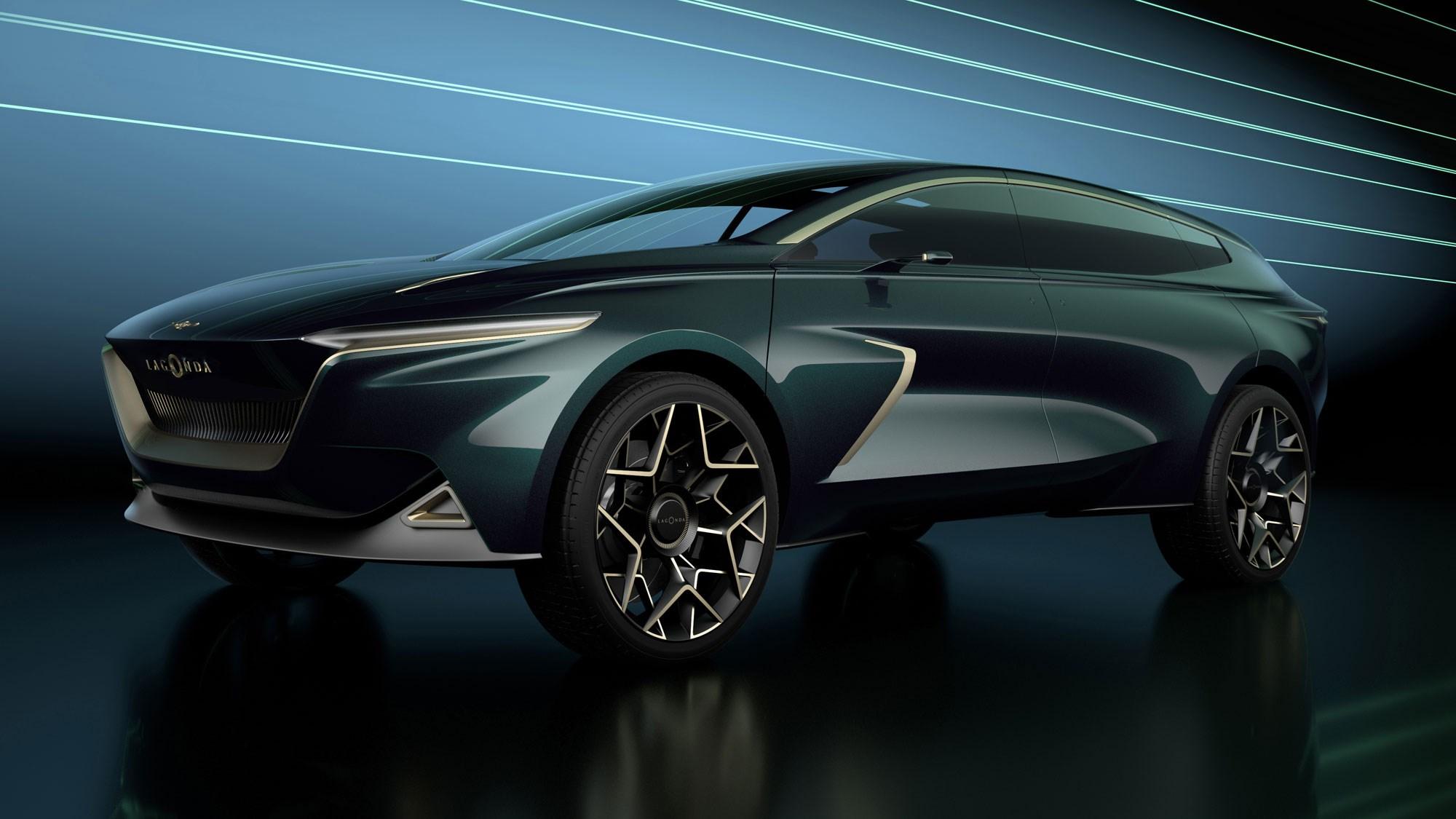 Lagonda All Terrain Concept Aston Martin Electric Suv Revealed At