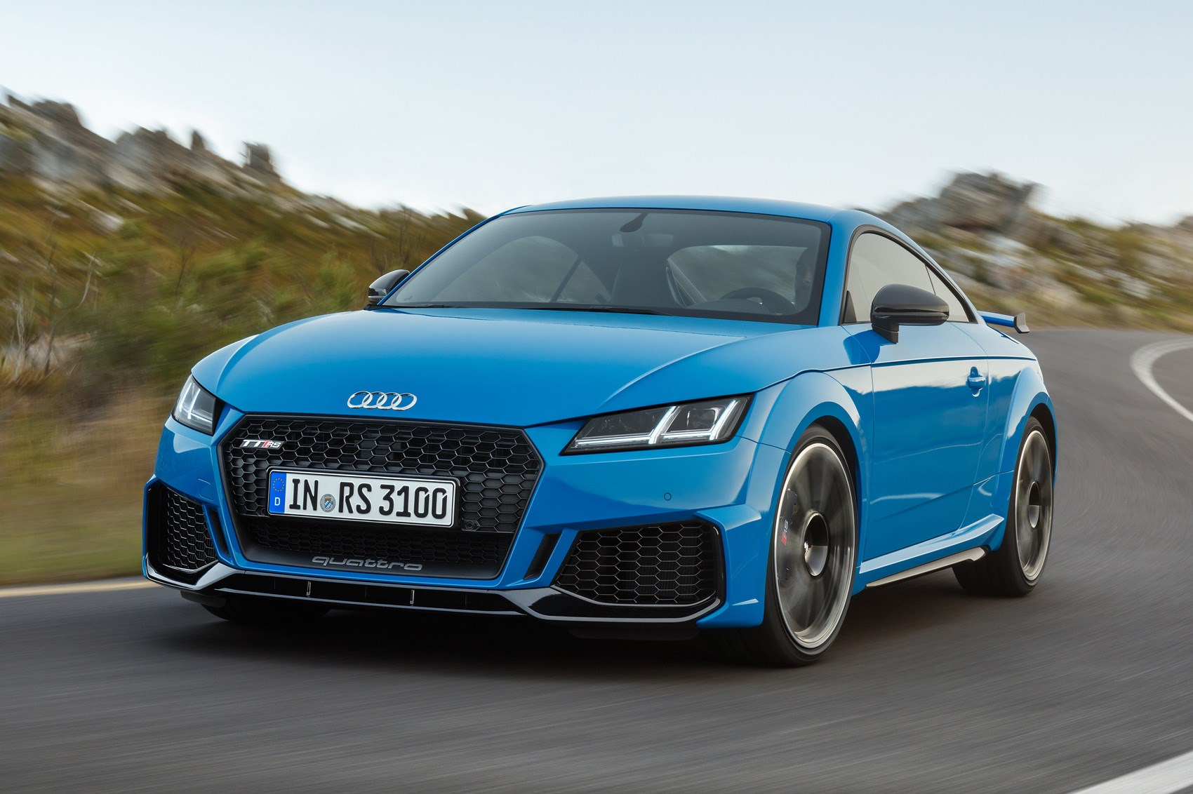 audi tt rs 2019 coupe and roadster facelifted car magazine. Black Bedroom Furniture Sets. Home Design Ideas