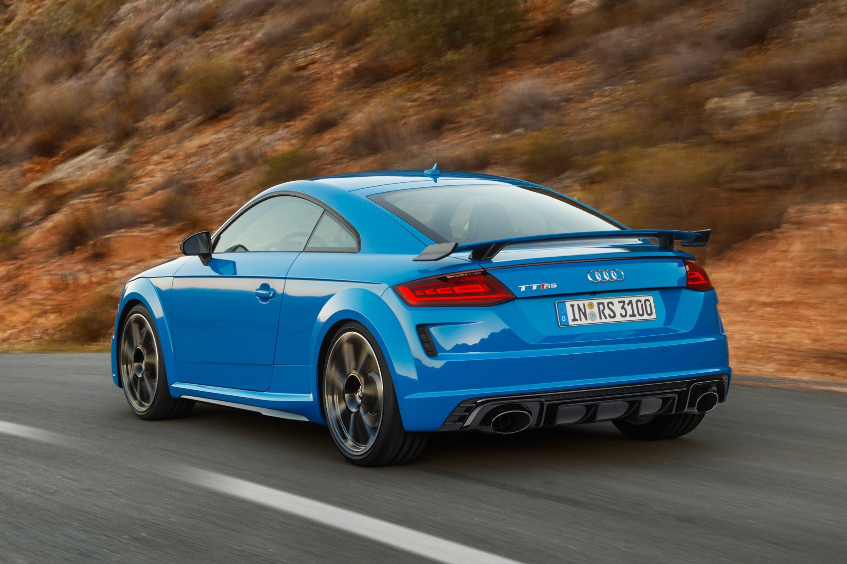 Audi Tt Rs 2019 Coupe And Roadster Facelifted Car Magazine