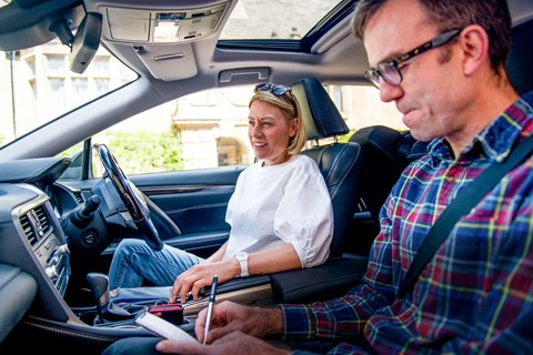 Lexus RX L interior reader