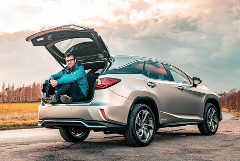 Lexus RX L and keeper Tim Pollard