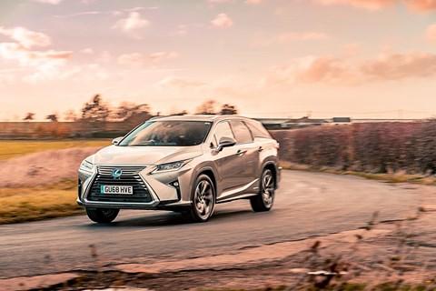 Lexus RX 400h: the original petrol-electric hybrid SUV