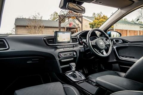 Kia Ceed interior 2019