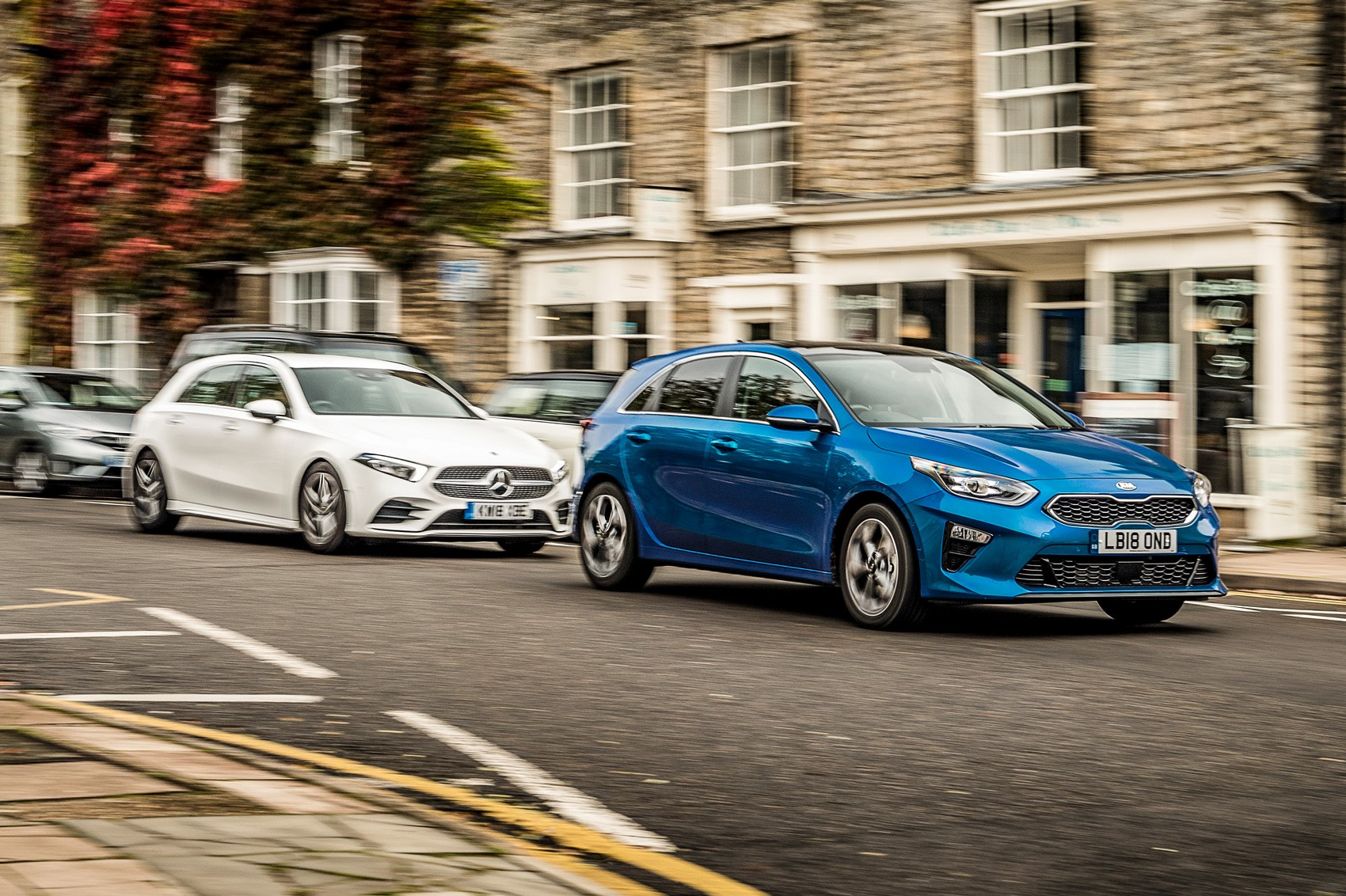 Best Hatchbacks 2019 Mercedes A Class Vs Ford Focus Vs Kia Ceed
