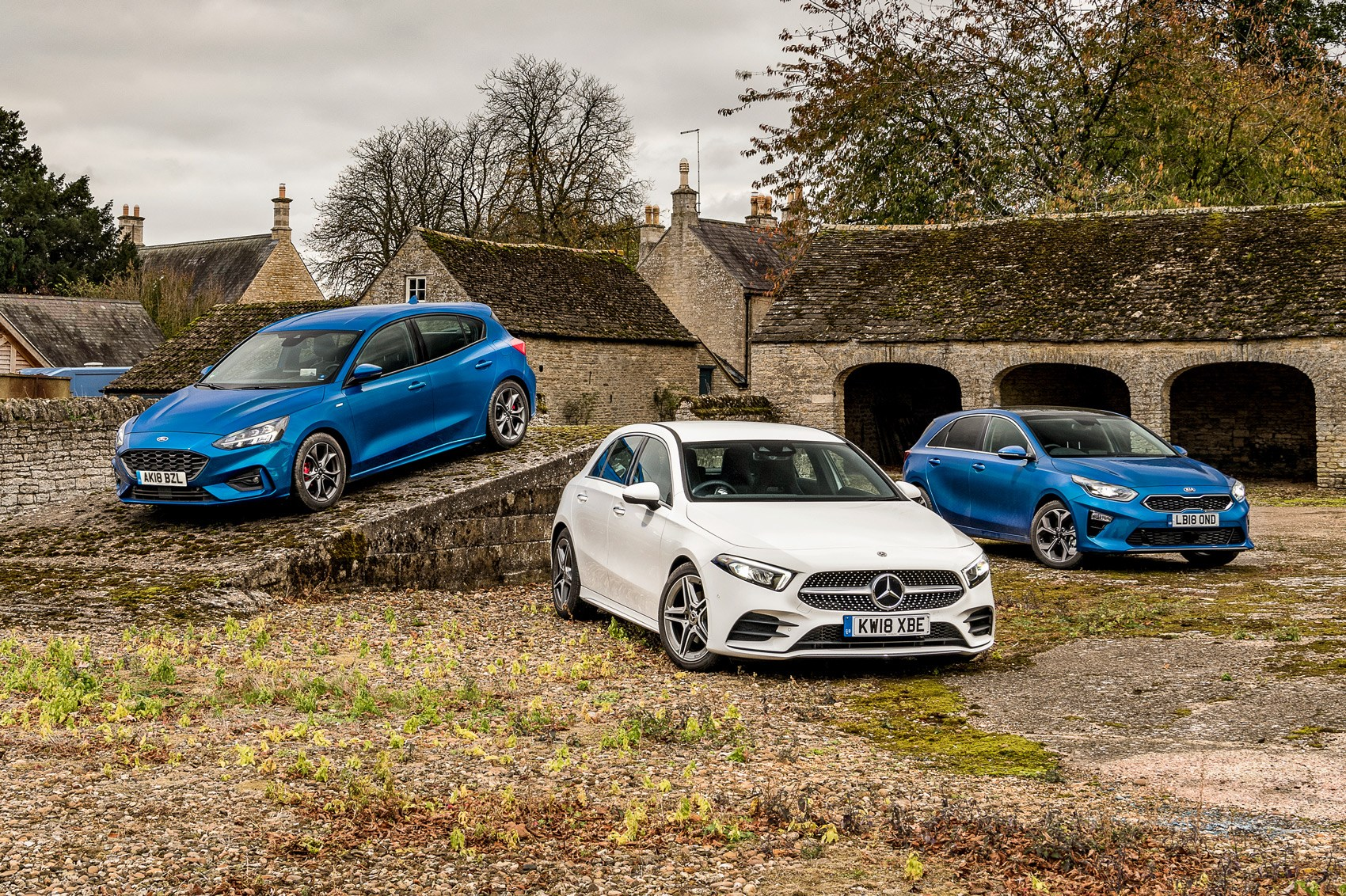 Best hatchbacks 2019: Mercedes A-Class vs Ford Focus vs Kia