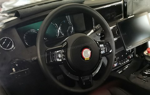 Inside the new 2021 Rolls-Royce Ghost interior
