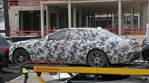 New Rolls-Royce Ghost spotted