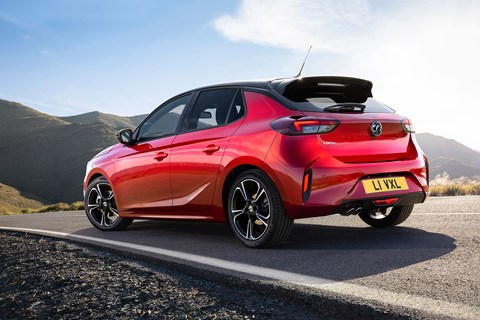 The new 2020 Vauxhall Corsa