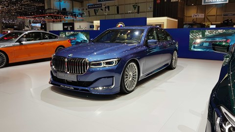 Alpina B7 at Geneva 2019 - front view