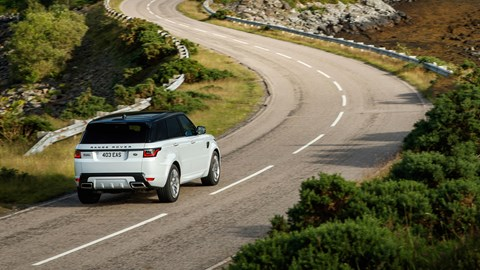 Range Rover Sport (2021) rear view