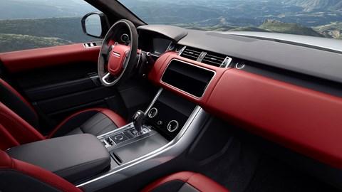 Range Rover Sport (2021) interior view