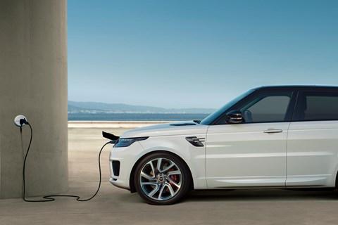 Range Rover PHEV side