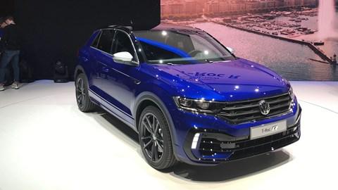 Volkswagen T-Roc R at Geneva 2019