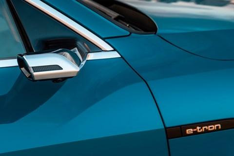 Audi etron camera mirror