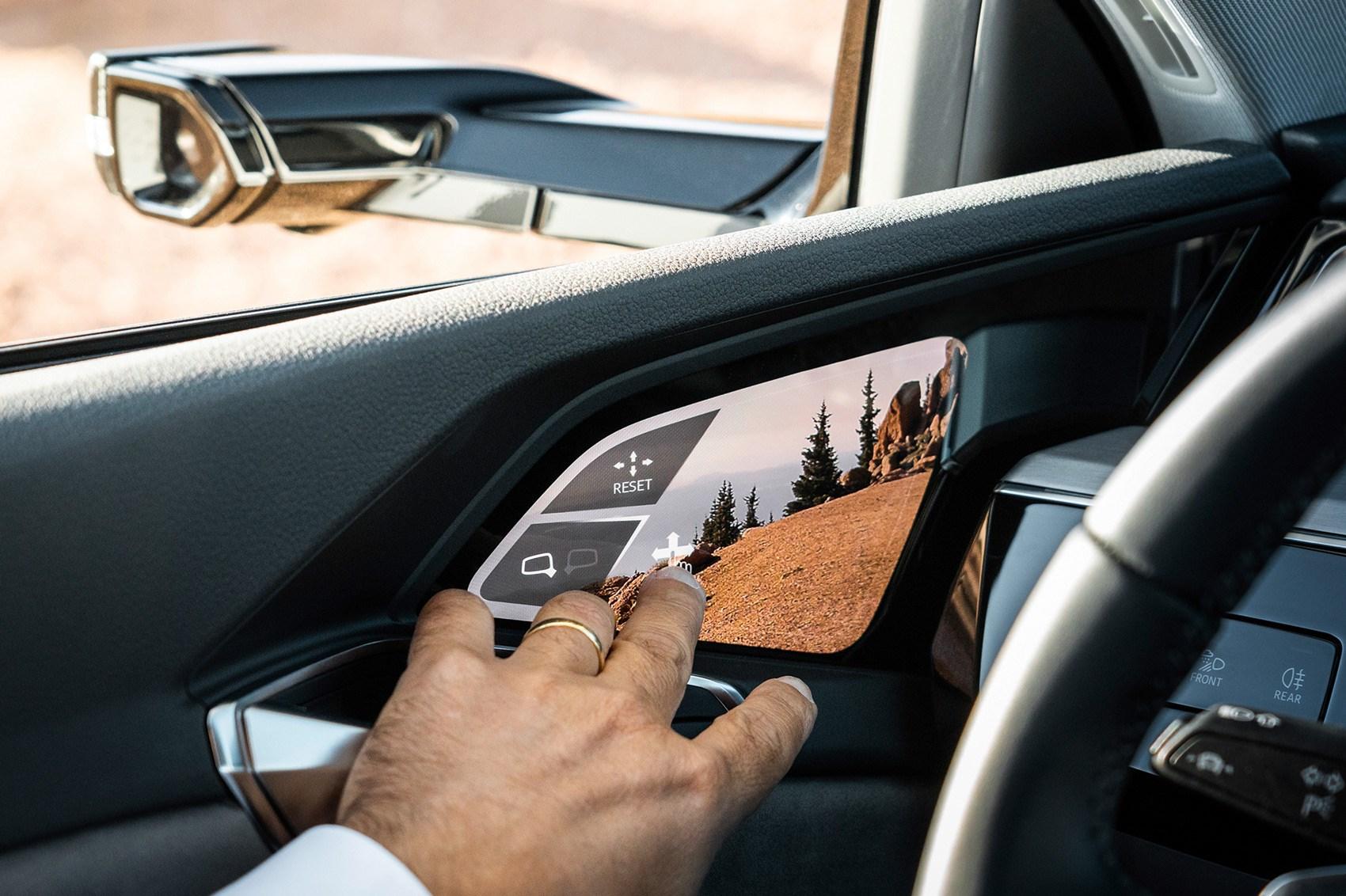 Audi e-Tron virtual mirrors: do they work? | CAR Magazine