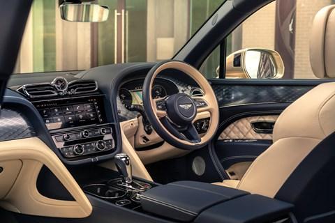 bentayga hybrid interior