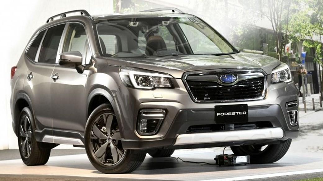 Subaru Forester E Boxer Has Already Been Shown In Singapore